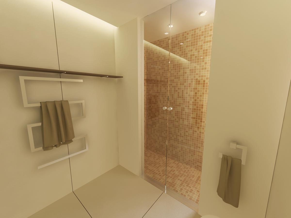 Coverciano - Dettaglio zona doccia - Tommaso Vecci